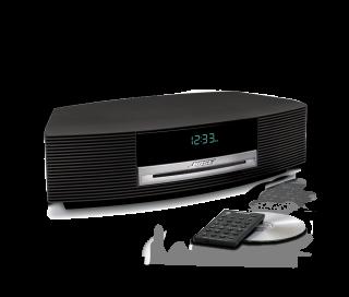 Wave Music System II mit CD Schwarz