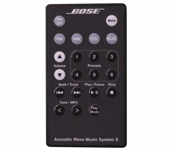 Acoustic Wave Music System Serie II Fernbedienung