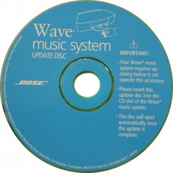 Wave Music System II Update CD